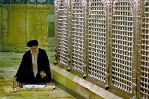 Leader's Visits to Mausoleum of Hazrat Masoumeh (SA)